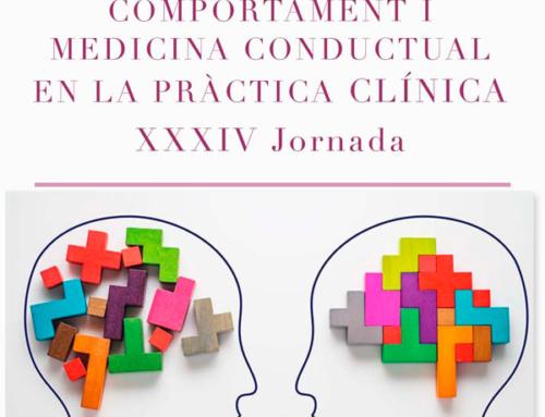 XXXIV Jornada de Teràpia del Comportament i Medicina Conductual en la Pràctica Clínica.