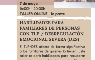 Taller para familiares de personas con TLP/Des
